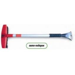 Купить Зимняя щетка  со скребком телескопическая (86-121см)