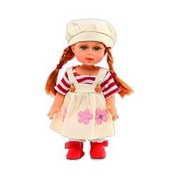 Купить Кукла ОЧАРОВАШКА в берете с косичками