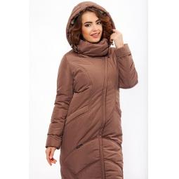 """Купить Пальто """"Ламбро"""" - коричневый"""