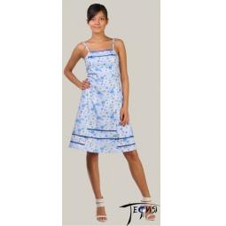 Купить Женская ночная сорочка из трикотажа 100% хб арт.  1-48