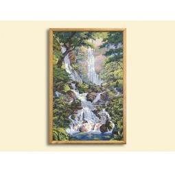 Купить Картина из гобелена - Водопад Романтика