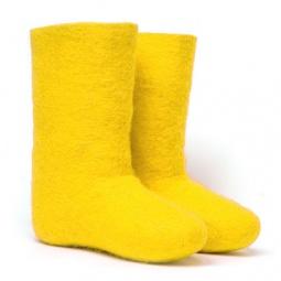 Купить Валенки  женские желтые