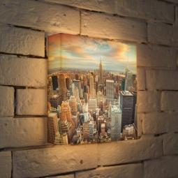 """Купить Лайтбокс """"NYC"""" 25x25-105 FotonioBox"""