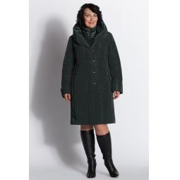 """Купить Пальто """"Аманда"""" - темно-зеленый"""