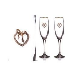 Купить Набор бокалов для шампанского 'АРТИ-М' 802-510-10