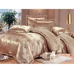 фото КПБ Жаккард с вышивкой 2,0 спальное с 4мя наволочками KUASTO 44032 Silk-Place