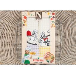 фото Набор полотенец для кухни из 2х штук с вышивкой PLT180-1 Tango
