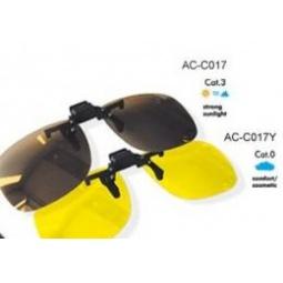 Купить Клипон поляризационный желтые/темные Cafa France ширина 4,5см.
