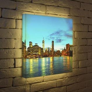 """Купить Лайтбокс """"NYC 2"""" 45x45-110 FotonioBox"""