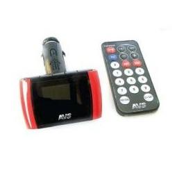 Купить USB MP3 плеер FM трансмиттер с дисплеем и пультом ДУ AVS F708А