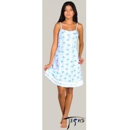 Купить Женская ночная сорочка из трикотажа 100% хб арт.  1-58