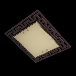 фото Потолочный светильник Eurosvet 2870/3 хром/венге Eurosvet