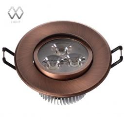 фото Встраиваемый светильник MW-Light Круз 637012303 MW-Light