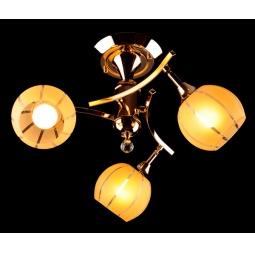 фото Потолочная люстра Eurosvet 3353, 3457 3353/3 золото/желтый Eurosvet