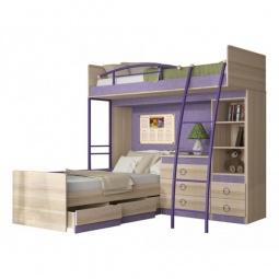 Купить Набор для детской 'Мебель Трия' Индиго ГН-145.007 ясень коимбра/навигатор