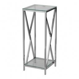 Купить Подставка 'Петроторг' 1626 L стекло/металлик