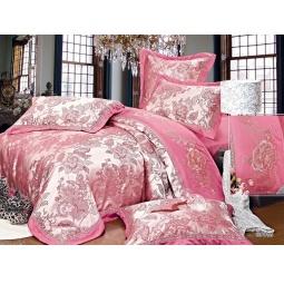 фото КПБ Жаккард с вышивкой 2,0 спальное с 2мя наволочками WYOMING 44019 Silk-Place