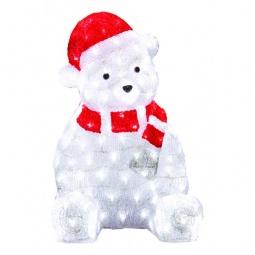 Купить Зверь световой 'Неон-Найт' (56 см) Медвежонок в красном колпаке 513-240