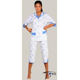Купить Женская трикотажная пижама 100% хб арт.  3-16