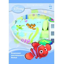 Купить Постельное белье для малышей Бязь Disney Baby 04 Немо малыш  НМ-К-1 Мона Лиза