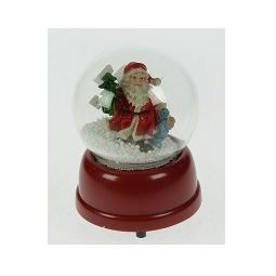 Купить Музыкальный шар со снегом *Дедушка Мороз*