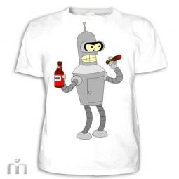 Купить Мужская футболка «Bender (2)»