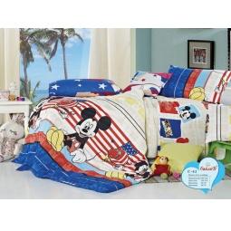 фото Постельное белье для мальчика Поплин 1,5 спальное С62-01 СайлиД