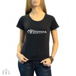 Купить Женская футболка «Toyota»