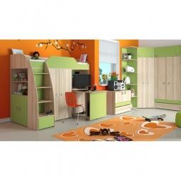 Купить Набор для детской 'Мебель Трия' Радуга-2+Киви ГН-84.00.001 ясень коимбра/панареа