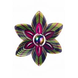 Купить Ветряной спиннер Цветок с перламутровым шаром 25см