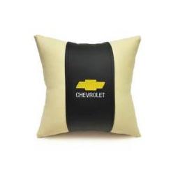 Купить Автомобильная подушка из эко-кожи CHEVROLET