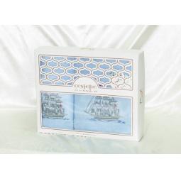 фото Набор Махровых полотенец Cestepe из 2х штук 50*90 см + 70*140 см plt138-11 Турция