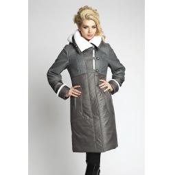 """Купить Пальто """"Амели"""" - темно-серый"""