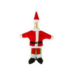 """Купить Одежда для бутылки """"Дед Мороз"""""""