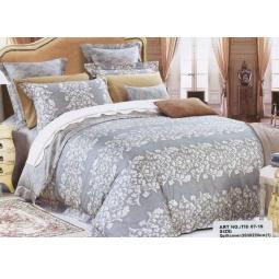 фото Комплект постельного белья Сатин Евро DeLux TIS07-19 Tango