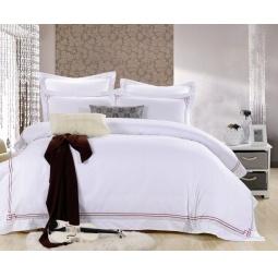 фото Постельное белье Cатин с вышивкой Семейный ES18-4 Famille