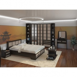 Купить Гарнитур для спальни 'ВасКо' Композиция 19 венге