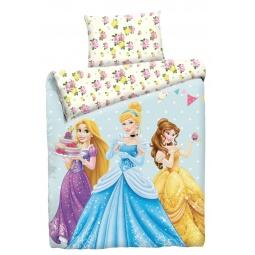 фото Постельное белье для девочек Disney Бязь 1,5 Принцессы с десертом 75980 Мона Лиза