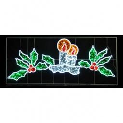 Купить 'Неон-Найт' Панно световое (1.4x3.3 м) Две свечи NN-503 503-107
