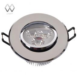 фото Встраиваемый светильник MW-Light Круз 637012603 MW-Light