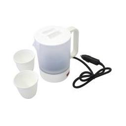 Купить Чайник автомобильный 0,5 л, 12v, 120W, 8 А (белый)