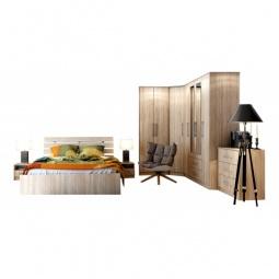 Купить Гарнитур для спальни 'Столлайн' Сиеста 2 дуб сонома