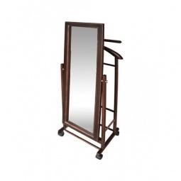Купить Вешалка для костюма 'Мебелик' В 24Н средне-коричневая