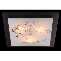 фото Потолочный светильник Eurosvet 2763 2769/3 венге Eurosvet