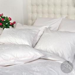 фото Постельное белье Жаккард 1,5 спальное DE FLEUR 22019 Каригуз