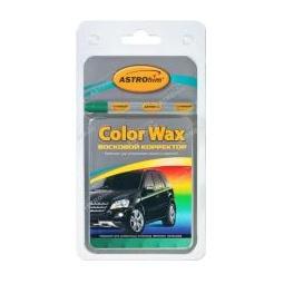 Купить Восковой корректор Astrohim color wax металлик зеленый