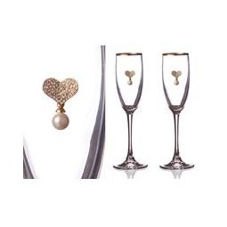 Купить Набор бокалов для шампанского 'АРТИ-М' 802-510-11