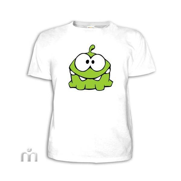 Рисунок на белой футболке