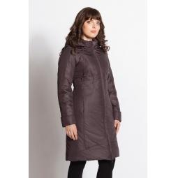 """Купить Пальто """"Амалия"""" - темно-фиолетовый"""