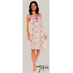 Купить Женская ночная трикотажная сорочка 100% хб арт. 1-69